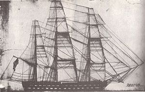 USS Independence (1814) - Master sailmaker's plan of USS Independence