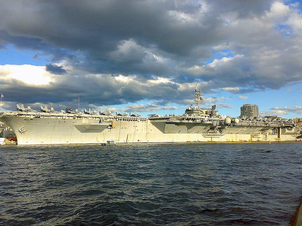 USS Kitty Hawk Sydney