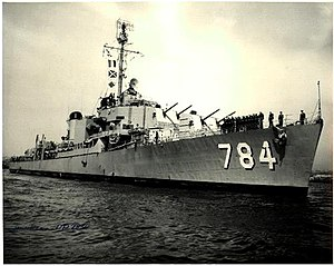 USS McKean (DD-784), circa in the late 1940s
