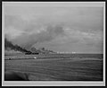 USS St Lo (CVE-63) making smoke during Battle off Samar 1944.jpg