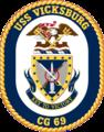 USS Vicksburg CG-69 Crest.png