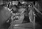 USS Yorktown (CV-10) hangar view 1943