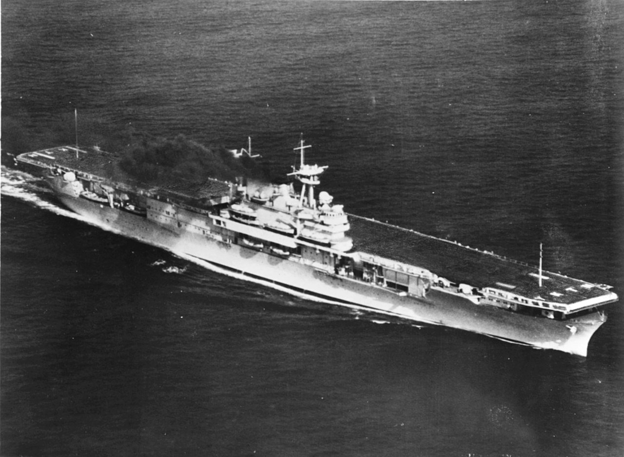 file uss yorktown  cv-5  on trials  may 1937 jpg