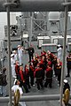 US Navy 060331-N-6536T-078 Sailors stationed aboard the guided-missile cruiser USS Bunker Hill (CG 52) host a ships tour for Junior Reserve Officer Training Corps (JROTC) cadets.jpg