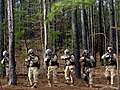 US Navy 060405-N-4097B-016 Sailors conduct patrol and troop leading operations during the Navy's Individual Augmentee Combat Training at Fort Jackson S.C.jpg