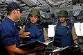 US Navy 080912-G-1103J-365 U.S. Coast Guard Lt. j.g. Paul Windt describes U.S. Coast Guard vessel boarding procedures.jpg