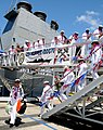 US Navy 100423-N-3666S-086 Sailor disembark USS Hopper (DDG 70) to greet their families upon returning to Joint Base Pearl Harbor-Hickam after a seven-month deployment.jpg