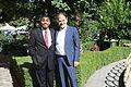 US Senate lobbyist Cary Lee Peterson & Albania Deputy MP Koco Kokedhima 1.jpg