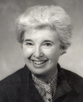 Gerda Lerner - Gerda Lerner c. 1984.