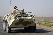 Ukrainian BTR-80