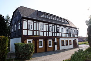 Beiersdorf, Saxony - Umgebindehaus