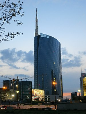 Unicredit Tower - Image: Unicredit Tower (Milan) 03