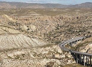 Unidad geológica de los yesos de Sorbas.JPG