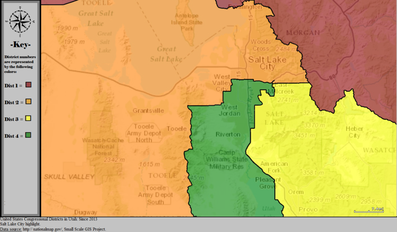 File United States Congressional Districts In Utah Metro