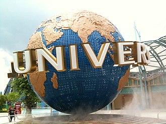 Universal Studios Singapore - The Universal Globe