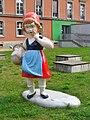 Universitaet Potsdam - Skulptur (Potsdam University - Sculpture) - geo.hlipp.de - 41028.jpg
