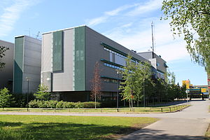 University of Oulu - Departments of Electrical Engineering, Computer Science and Engineering and Telecommunications Engineering in the Linnanmaa campus.
