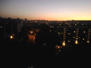 Mlynská dolina - Mlynská Dolina at night