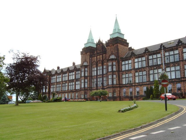 University of Strathclyde, Jordanhill campus - geograph.org.uk - 481744