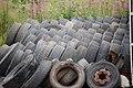 Used tyres - geograph.org.uk - 917185.jpg