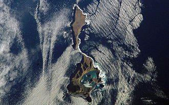 Ushishir - NASA picture of Ushishir Island