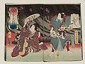 Utagawa Kunisada II - Book covers for Koiguruma Yodo no kawasemi, Part 2, Vols. 1 and 2.jpg