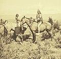 Utes along White River - Jack Hillers - 1873.jpg