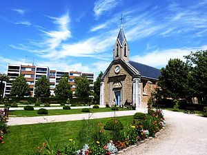 Vélizy-Villacoublay - The church of Saint-Denis, in Vélizy-Villacoublay