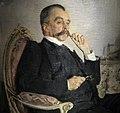 V.M. Golytsin by Serov (1906, Tretyakov gallery) detail.jpg