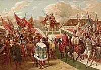 Couronnement de Ferdinand Ferdinand V en 1830