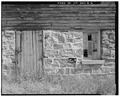 VIEW TO NORTH. DOOR, WINDOW AND MASONRY DETAIL - Lila Farm, Barn, E808 State Highway 54, Plover, Portage County, WI HABS WIS,49-PLOV.V,1B-6.tif