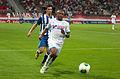 Valais Cup 2013 - OM-FC Porto 13-07-2013 - André Castro et André Ayew 1.jpg