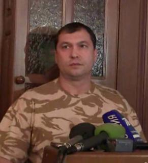 Valery Bolotov eastern Ukrainian political figure