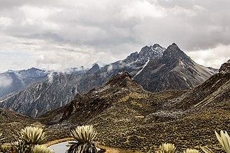 Cordillera de Mérida - Some of the cordillera at Sierra de La Culata.