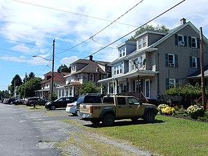 Cass Township, Schuylkill County, Pennsylvania - Image: Valley Rd in Cass Twp, Schuylkill Co PA 01