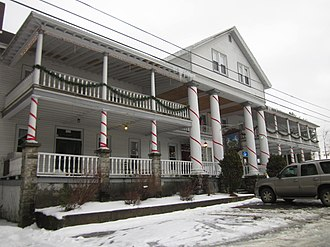 Thendara, New York - Van Auken's Inne, January 2012