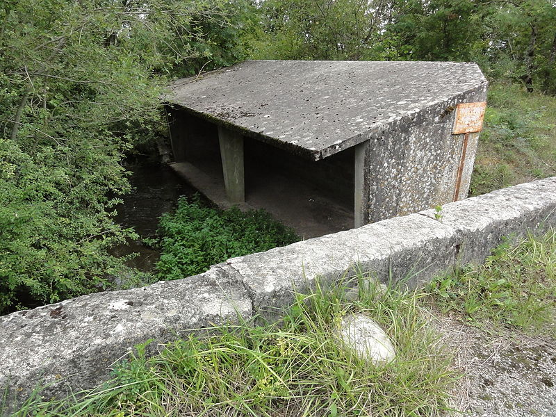 Vaucouleurs (Meuse) ancien lavoir