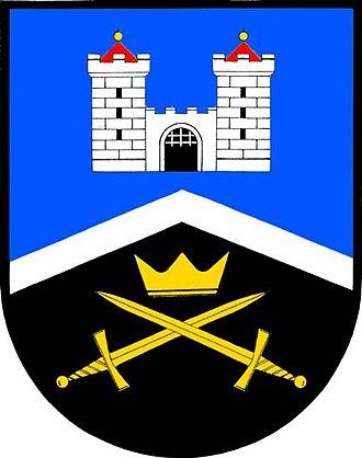 Veliš (Jičín District) - Image: Velis znak