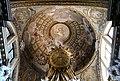 Venezia, gli scalzi, interno, altare maggiore, cupola affrescata.jpg