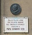 Venice Ioannes XXIII plaque.jpg