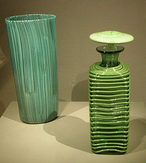 Paolo Venini glassblower
