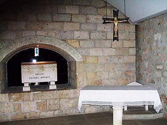 Rafael Arnáiz Barón - Tomb.