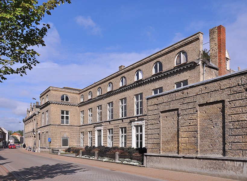 Veurne (Belgium): house Pannestraat 3