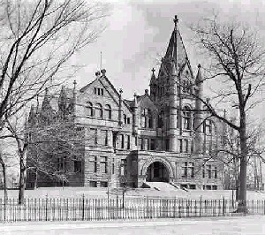 Victoria University, Toronto - Old Vic in 1900