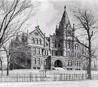 Victoria University, Toronto - Old Vic in 1900