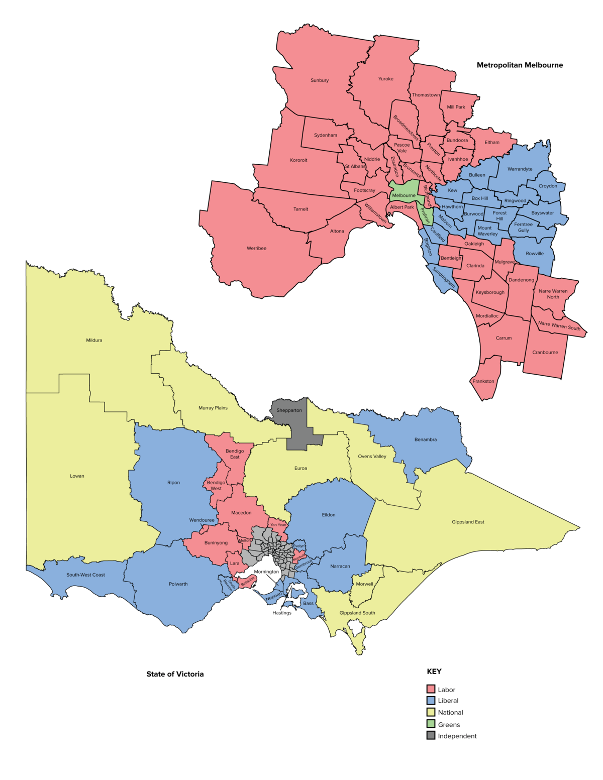 Electoral Districts Of Victoria Wikipedia