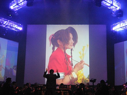 VGL performance in 2009 Video Games Live 2009 FFVII 2.jpg