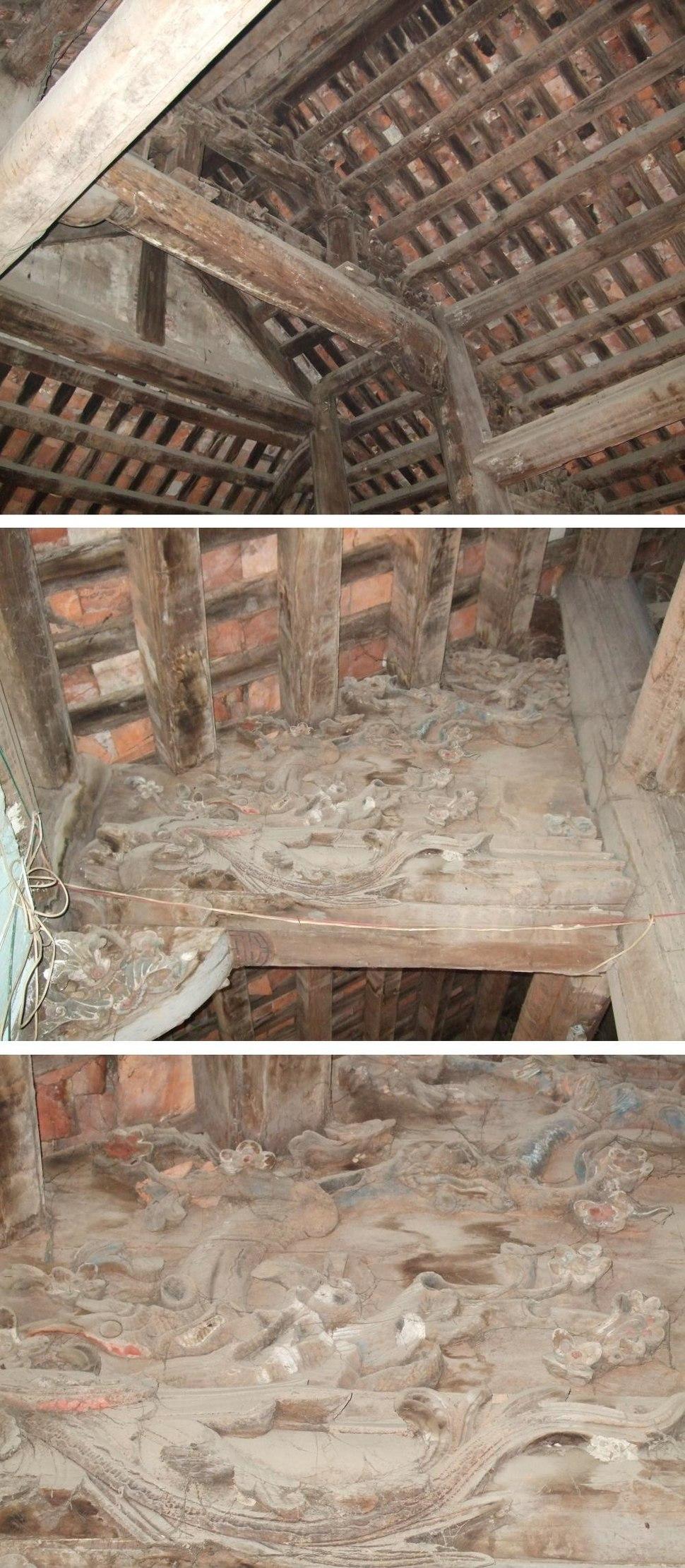 Vietnamese wooden ceiling