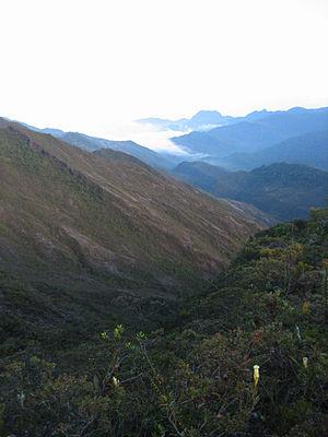 Mount Tahan - Image: View Near Kem Botak, Gunung Tahan