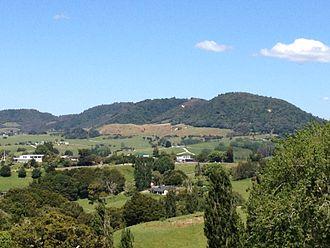 Maungaturoto - Beautiful views from the Hills of Maungaturoto